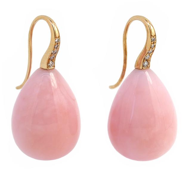 mijel | Pink Opal Ohrhänger