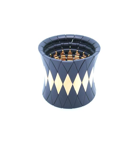 Armreif AURA DIVA ceramica, satinato
