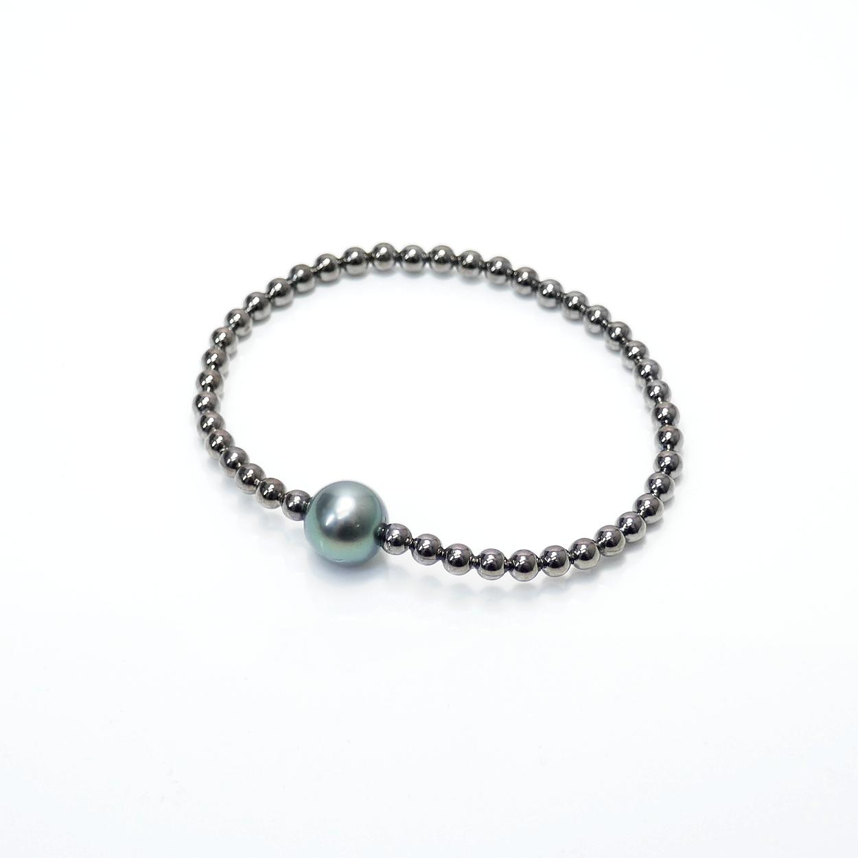 Armband Perle flexi dark