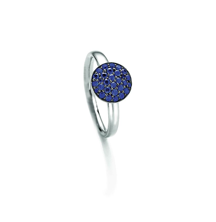 noor - Ring mit Safir