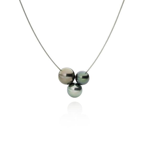Drillings Perlencollier mit Tahitiperlen